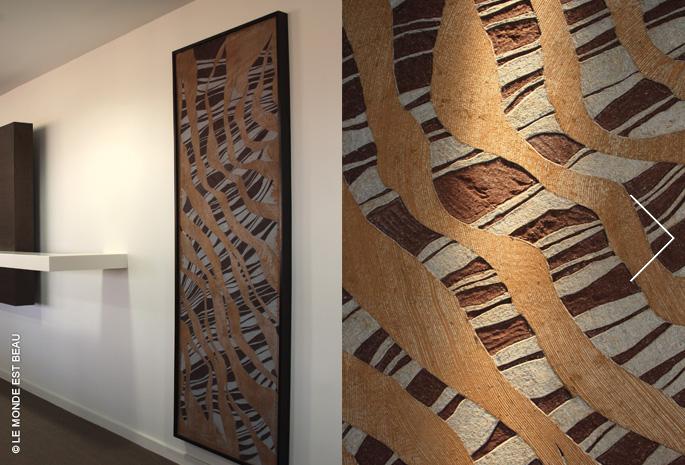 """""""Meshes and lines"""" M/V n°2, siège social de la Caisse d'Épargne Rhône-Alpes, 2010"""