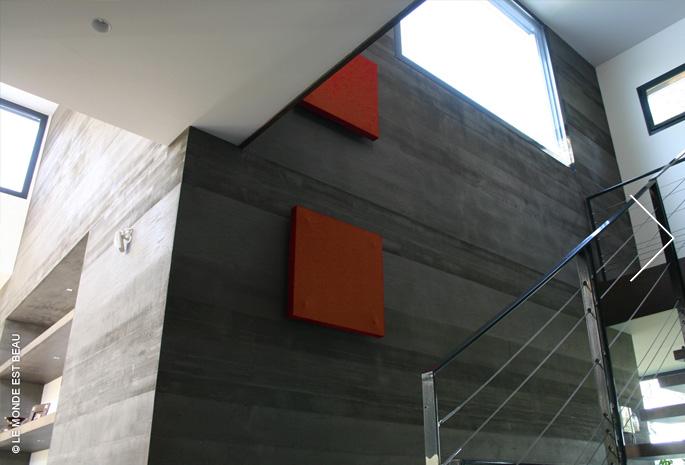 Résidence, enduit minéral à la chaux, Collection M/I, module Architectes Associés, Rhône-Alpes 2009