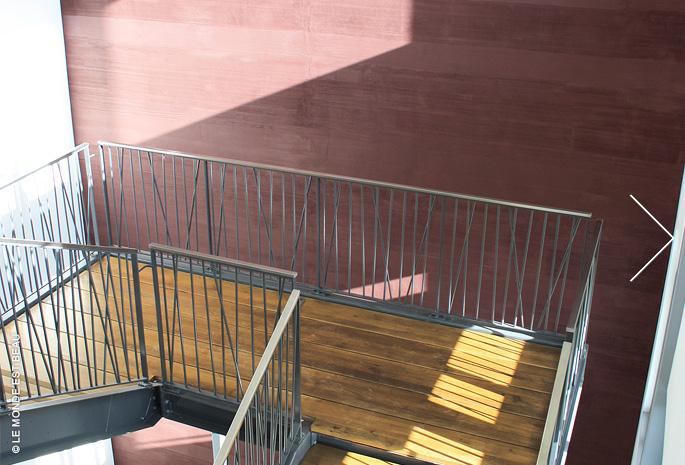 Hall Parc Mail, enduit minéral à la chaux, Collection M/I, Agence A.I.A, Roissy en France 2010, 2011, 2012