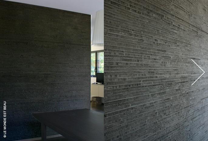 Résidence, enduit minéral à la chaux, Collection Le M/I, Rhône-Alpes 2011