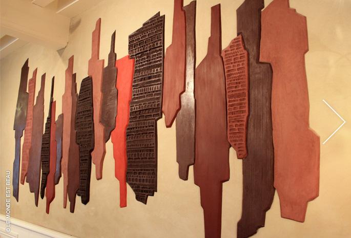 Composition de différents enduits minéraux, Collection M/II, Rhône-Alpes 2007