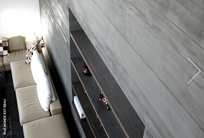 Résidence, enduit minéral à la chaux, Collection M/I, Module Architectes Associés, Rhône Alpes 2009
